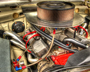 Photogrphy Prints - Under the Hood of a Racer Print by Thomas Young