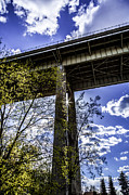 Spokane Prints - Under the Maple St Bridge Print by Daniel Baumer