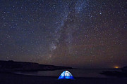 State Of Montana Photos - Under The Milky Way by Beth Sargent