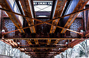 Under The Muncie Bridge Print by Chris McCown