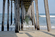 Under The Ocean  Photos - Under the Pier by Kay Pickens