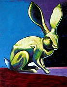 Full Body Paintings - Under The Radar Jackrabbit by Joe  Triano