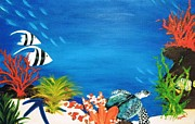 Under The Sea Print by Debbie Lynch