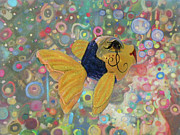 Painted Mixed Media - Under The Sea Party by Sandi OReilly