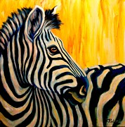 Under The Serengeti Sun  Print by Theresa Paden