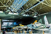 Spruce Goose Photos - Under the Wing of the Goose by Jon Burch Photography