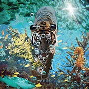 Deep Digital Art Originals - Under Water by Graphicsite Luzern