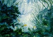 Under Water View Print by Karol Wyckoff
