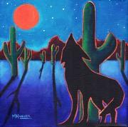 Under Western Skies Print by MarLa Hoover