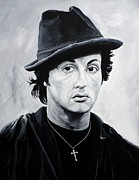 Stallone Paintings - Underdog by Anthony Morales