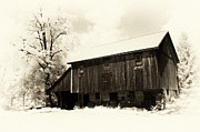 Pa Barns Prints - Underground Hideout Print by Paul W Faust -  Impressions of Light