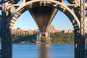 Little Red River Art - Underneath the George Washington Bridge I by Clarence Holmes