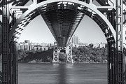 Skies Framed Prints - Underneath the George Washington Bridge III Framed Print by Clarence Holmes