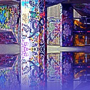 Subway Art Art - Underpass by Sharon Lisa Clarke