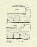 1907 Drawings - Underwater Light System 1907 Patent Art by Prior Art Design