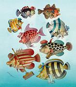 Underwater Story 01 Print by Kestutis Kasparavicius