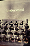 Typewriter Keys Digital Art - Underwood by Paulette Wright