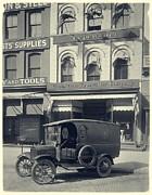 Underwood Typewriter Factory Print by Vintage Photograph