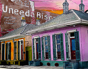 Garden District Paintings - Uneeda Bisquit Building 383 by John Boles