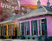 Uneeda Bisquit Building 383 Print by John Boles