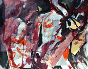 Challenging Painting Prints - Unexpected Intensity Print by Beverley Harper Tinsley