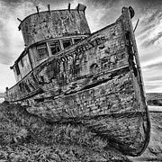 Trawler Metal Prints - Unfit for Duty Metal Print by Chad Tracy