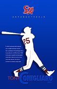 Baseball Helmet Posters - Unforgettable Poster by Ron Regalado