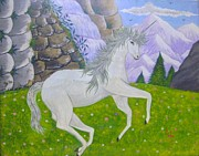 Syeda Ishrat Art - UniCorn by Syeda Ishrat