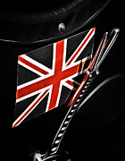 British Car Posters - Union Jack Poster by Phil