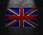 Union Jack Stone Texture Print by The Learning Curve Photography