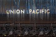 Paul W Faust Framed Prints - Union Pacific - Big Boy Tender Framed Print by Paul W Faust -  Impressions of Light