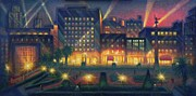 Union Square Painting Prints - Union Square Print by Raffi  Jacobian