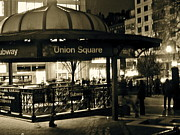 Union Square Station Print by Maritza Melendez