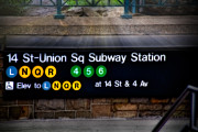 New York City Framed Prints - Union Square Subway Station Framed Print by Susan Candelario