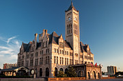 Nashville Architecture Prints - Union Station Print by Brian Jannsen