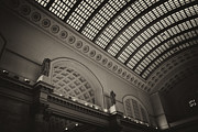 Train Photos - Union Station Chicago 1 by Purcell Pictures