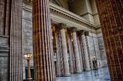 Union Station Lobby Prints - Union Station Chicago Print by Mike Burgquist