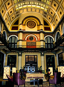 Union Station Metal Prints - Union Station Lobby Larger Metal Print by Kristin Elmquist