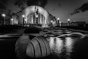 Keith Allen - Union Terminal at Night