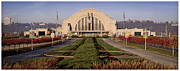 Cincinnati Framed Prints - Union Terminal Framed Print by Scott Meyer