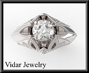 Roi Avidar - Unique White Gold Topaz...