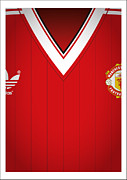 Adidas Posters - United H 83 Poster by Neil Howard