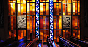 United States Air Force Academy Cadet Chapel Detail Print by Vivian Christopher