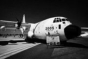 C130 Prints - United States Coast Guard C-130J Hercules surveillance aircraft in full livery RIAT 2005 Print by Joe Fox