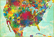 Gary Grayson - United States Map