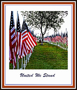 Faith Hope And Love Metal Prints - United We Stand Metal Print by Ella Kaye