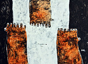 Figurative-abstract Posters - Universi No. 1  Poster by Mark M  Mellon