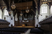University Auditorium And The Anderson Memorial Organ Print by Lynn Palmer
