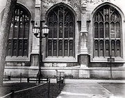 Joseph Duba Metal Prints - University of Chicago 1970s Metal Print by Joseph Duba