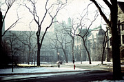 Joseph Duba Metal Prints - University of Chicago 1976 Metal Print by Joseph Duba